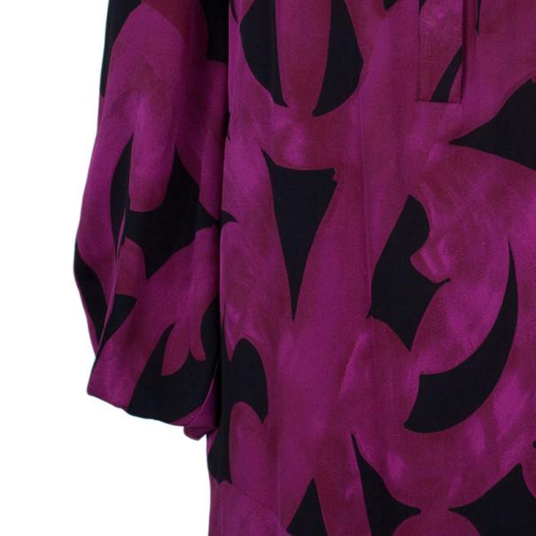 Diane Von Furstenberg Akita Printed Shift Dress S