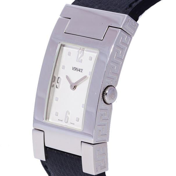 Versace White Stainless Steel OLA99 Women Wristwatch 23MM