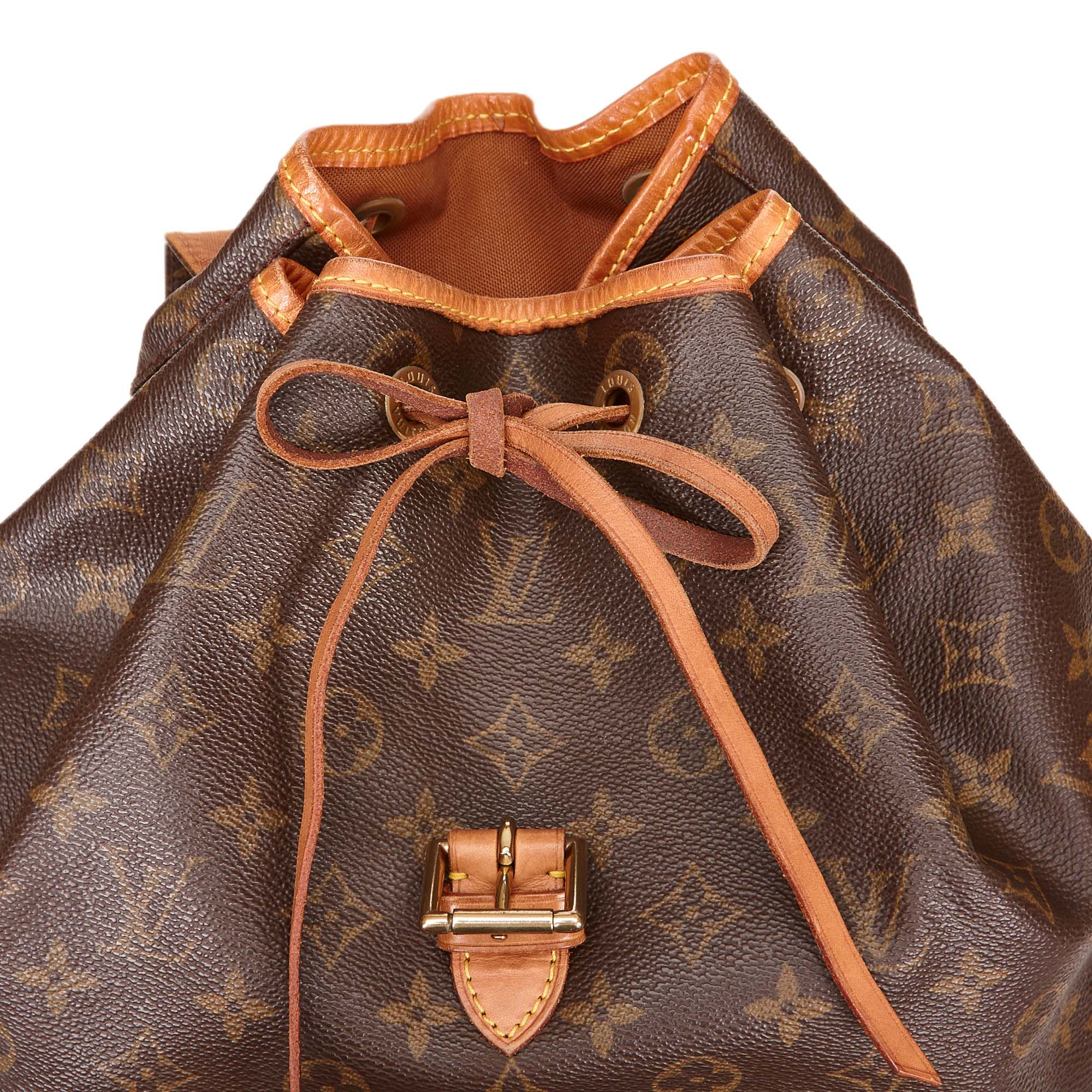 Louis Vuitton Monogram Canvas Montsouris Backback GM