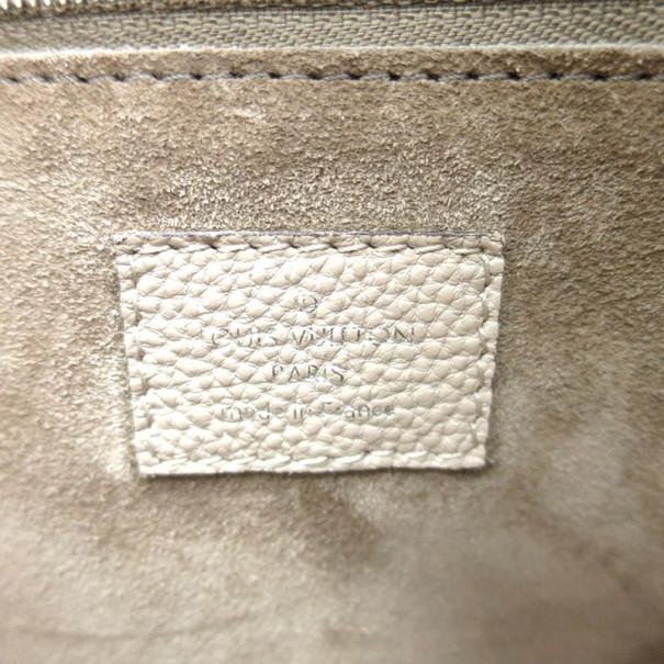Louis Vuitton Veau Cachemire Galet Lockit MM