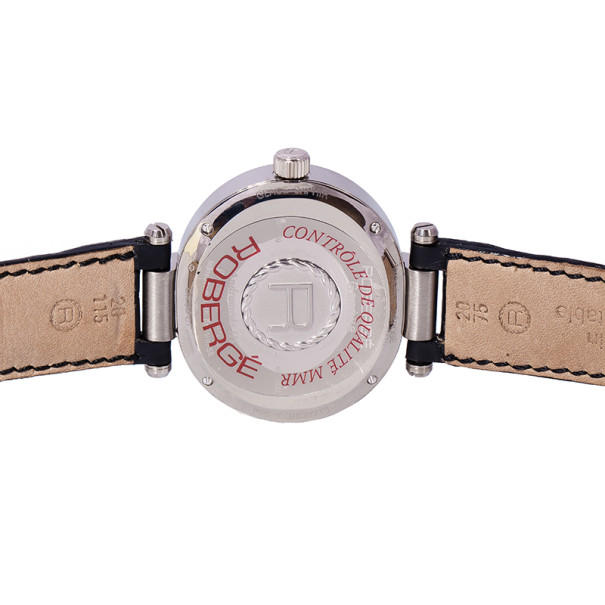 Roberge White 18K White Gold Andromede Women's Wristwatch 40MM