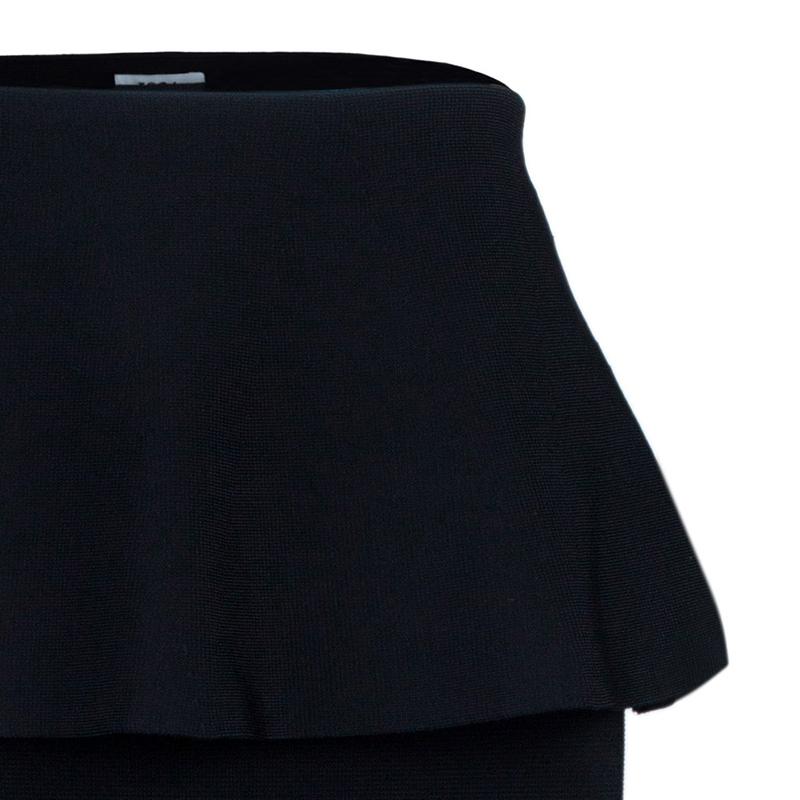 Issa Edith Peplum Maxi Skirt XS