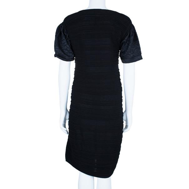 Fendi Textured Body-Con Dress L