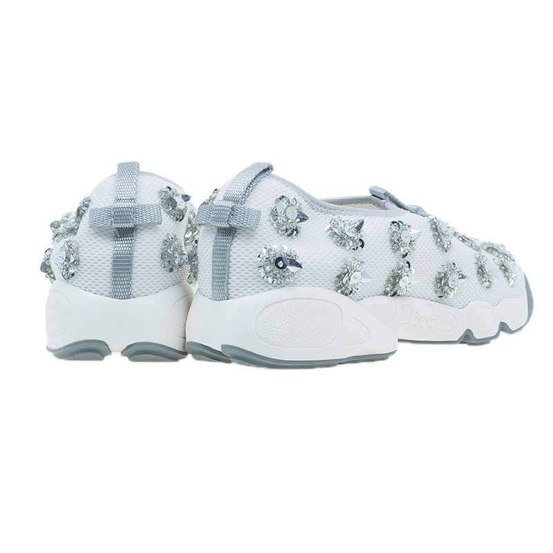 Dior Two Tone Fusion Sneakers Size 39