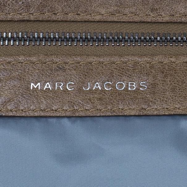Marc Jacobs Caramel Patent Stam Satchel