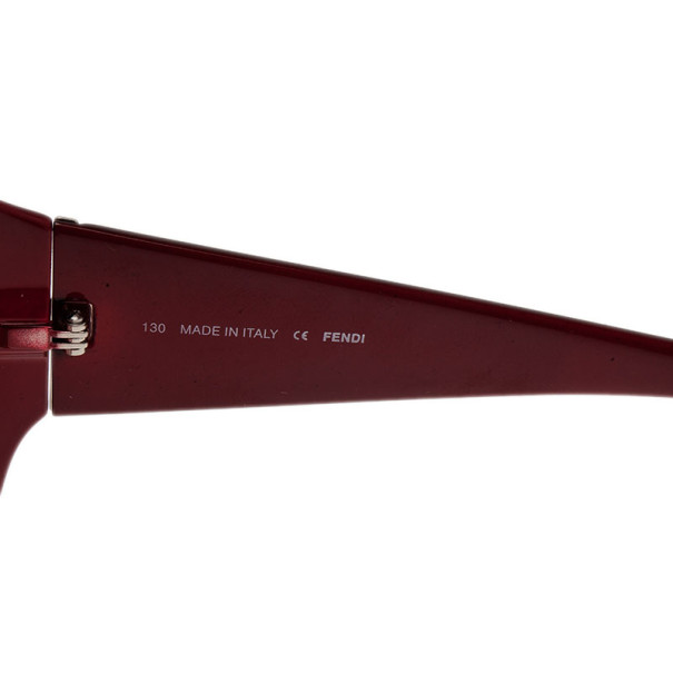Fendi Pequin Red 5254 Sunglasses