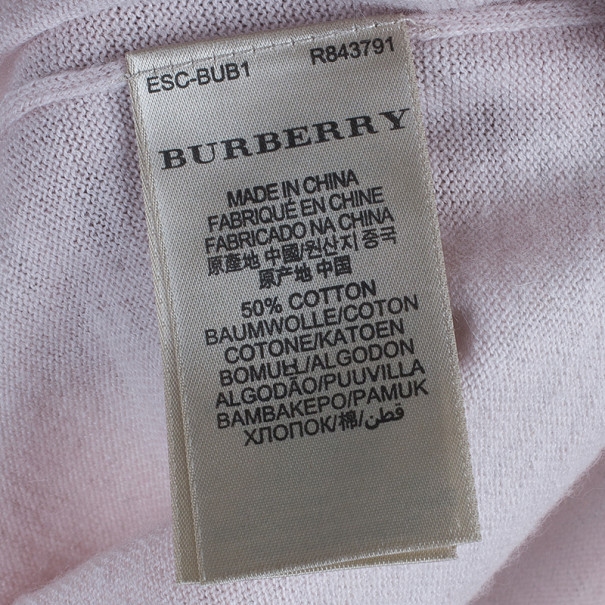 Burberry Brit Light Pink Sweater S