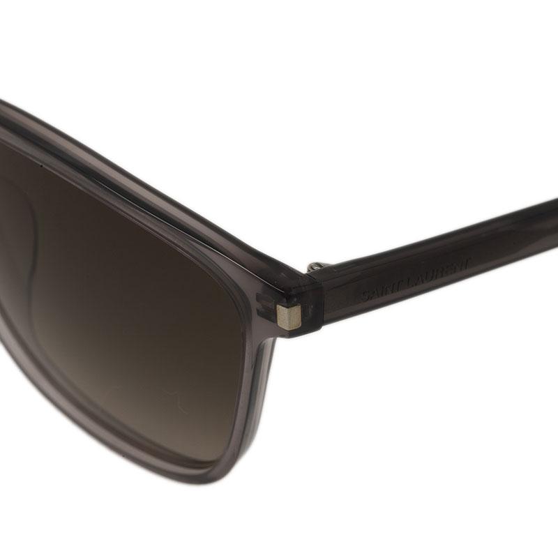 Saint Laurent Paris Rectangle Sunglasses