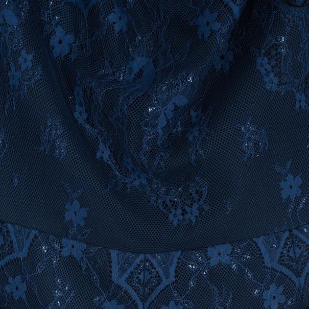 Tadashi Shoji Off-Shoulder Lace Detail Dress M