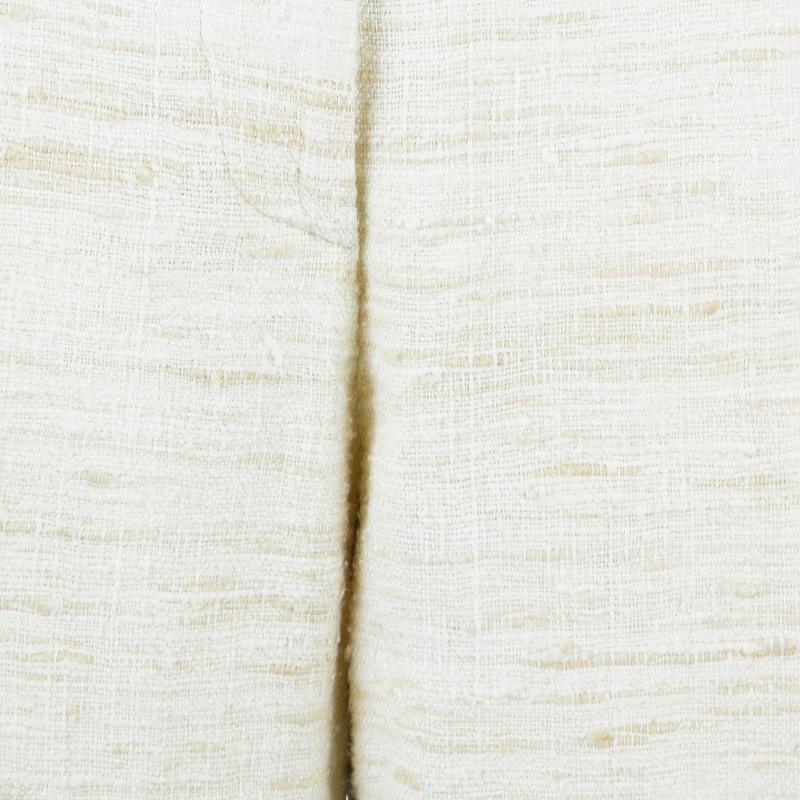 Max Mara Beige Textured Pant Suit S