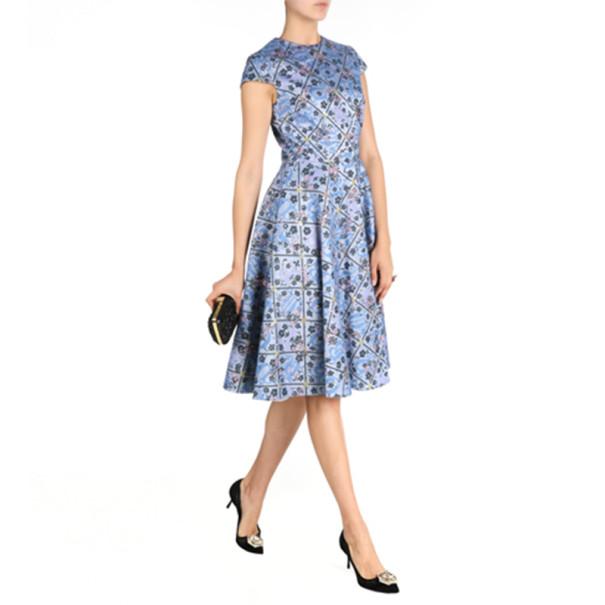 Mary Katrantzou J1 Babelonia Printed Dress M
