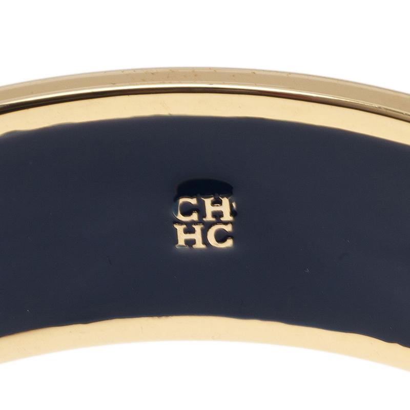 CH Carolina Herrera White Bangle Bracelet