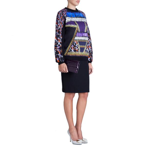 Peter Pilotto Printed Cotton Sweater M