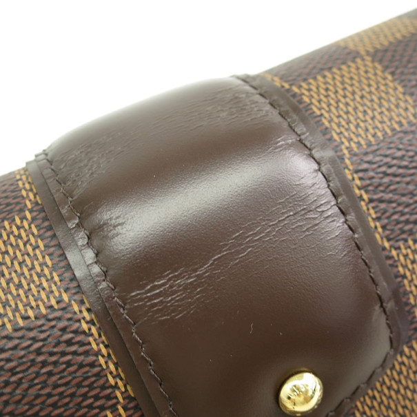 Louis Vuitton Damier Ebene Portefeuille Sistina Bifold Long Wallet