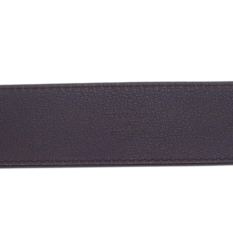 Louis Vuitton Amarante Monogram Vernis Facettes Belt 85 CM