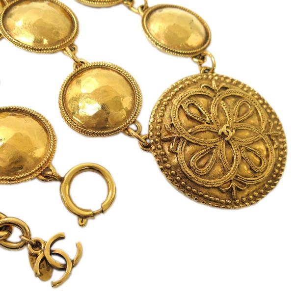 Chanel Vintage Medallions Necklace
