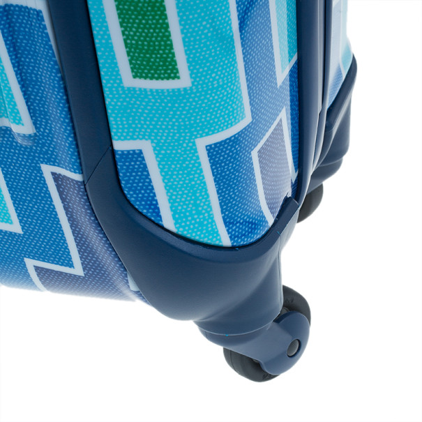 Tumi for Jonathan Adler Blue Printed Trolley