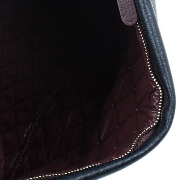 Chanel Black Lambskin Beauty CC Clutch