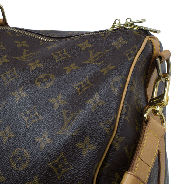 Louis Vuitton Monogram Canvas Keepall Bandouliere 55