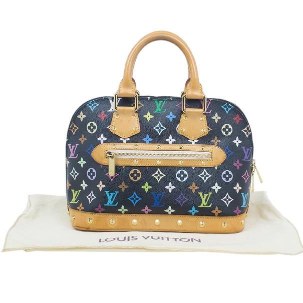 Louis Vuitton Multicoloured Monogram Canvas Alma PM