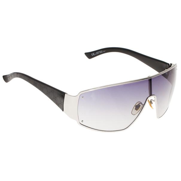 Gucci Black GG Shield Sunglasses