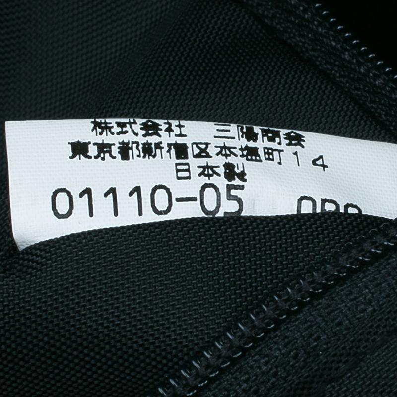 Burberry Brown Nylon Tartan Shopper Bag