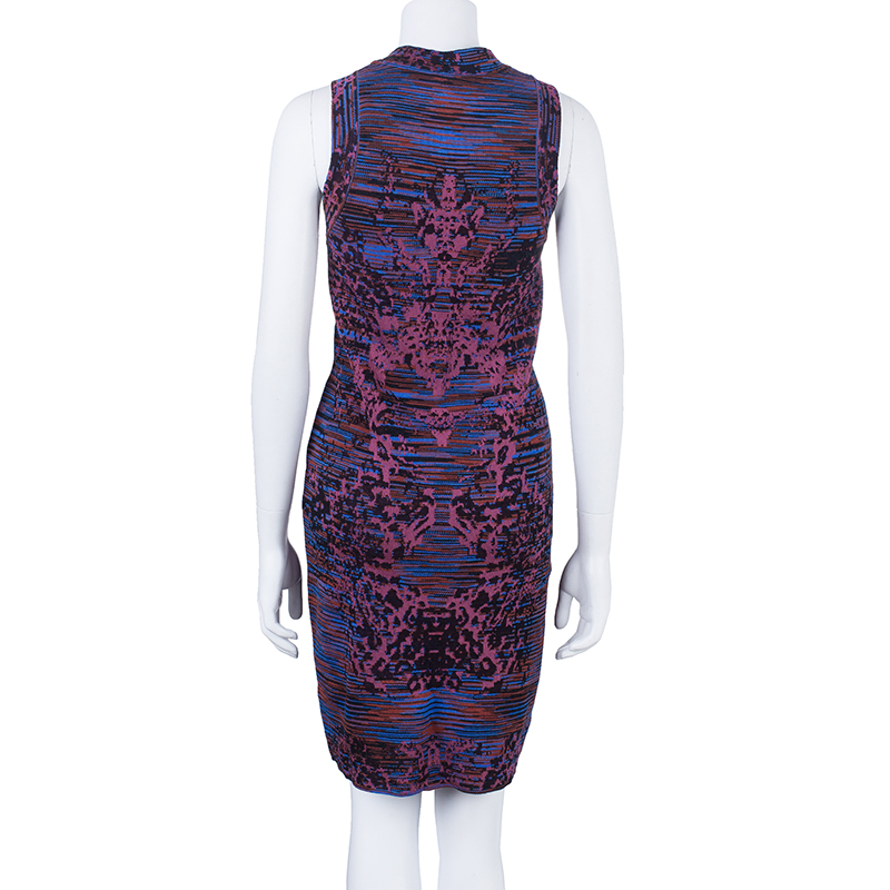 M Missoni Racerback Knit Body-Con Dress M