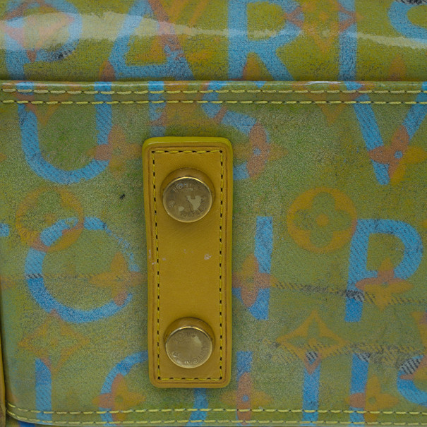 Louis Vuitton Multicolored Monogram Limited Edition Pulp Weekender PM