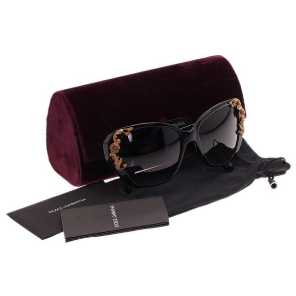 Dolce and Gabbana Black Sicilian Baroque Sunglasses