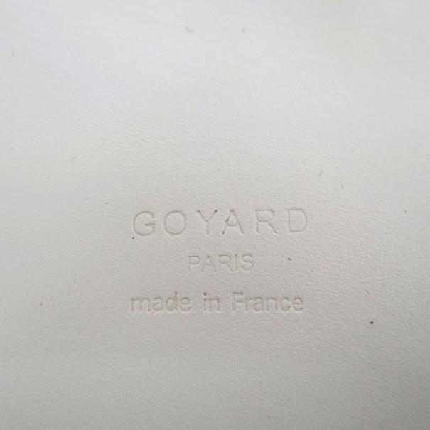Goyard White Grand Blue Messenger GM