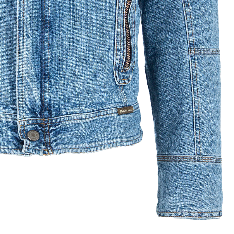 D&G Men's Light Blue Denim Jacket S