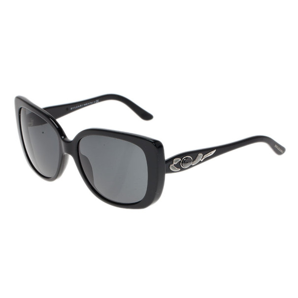 Bvlgari Black Special Fit Cats Eye Sunglasses