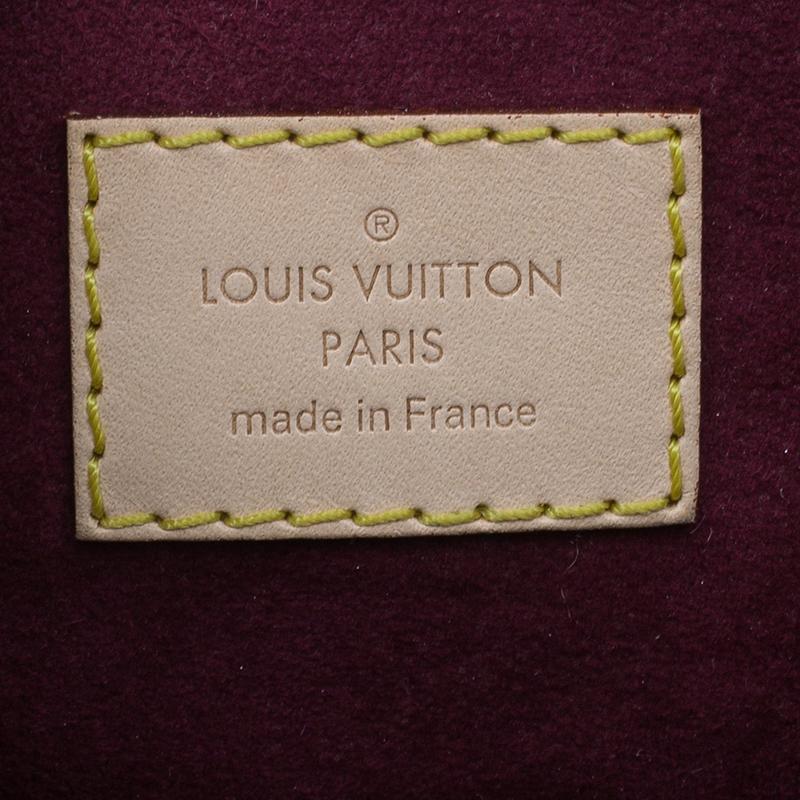 Louis Vuitton Monogram Coated Canvas Pallas Aurore Tote