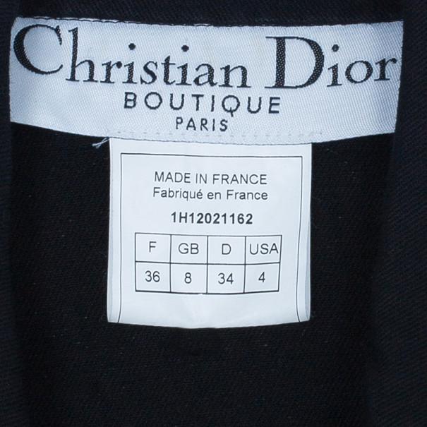 Dior J'Adore Dior Black Denim Jacket S