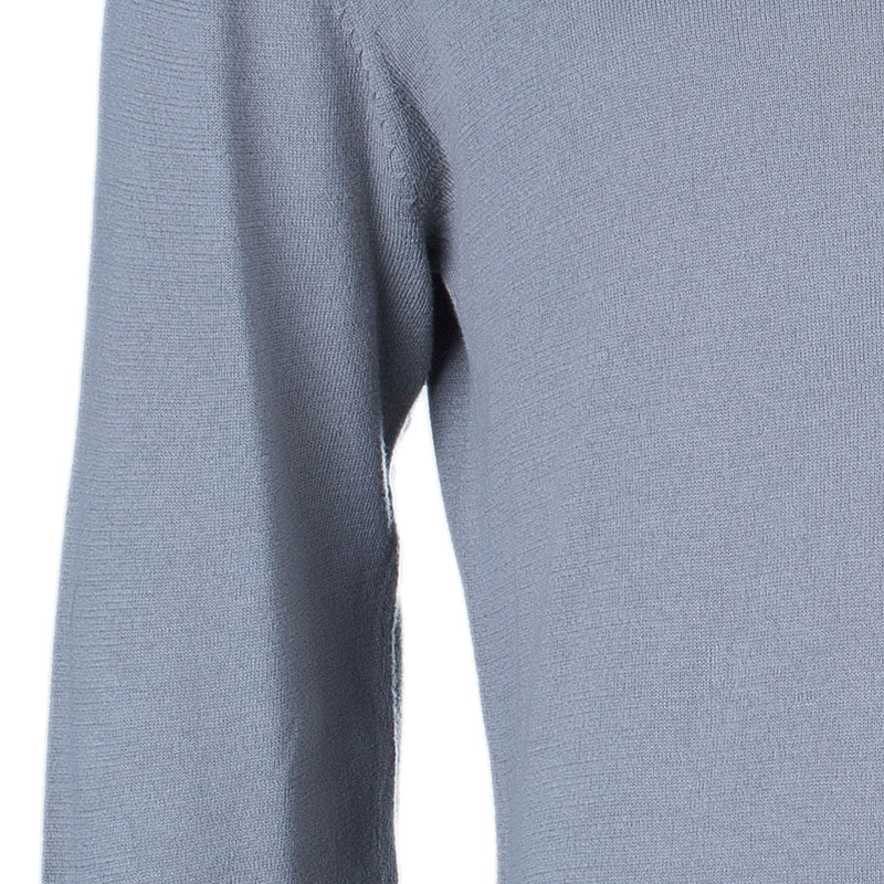 CH Carolina Herrera Men's Gray Knit Pullover S