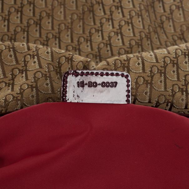 Christian Dior Brown Logo Hobo