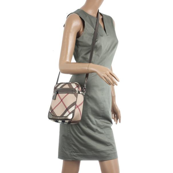 Burberry Nova Check Crossbody Bag