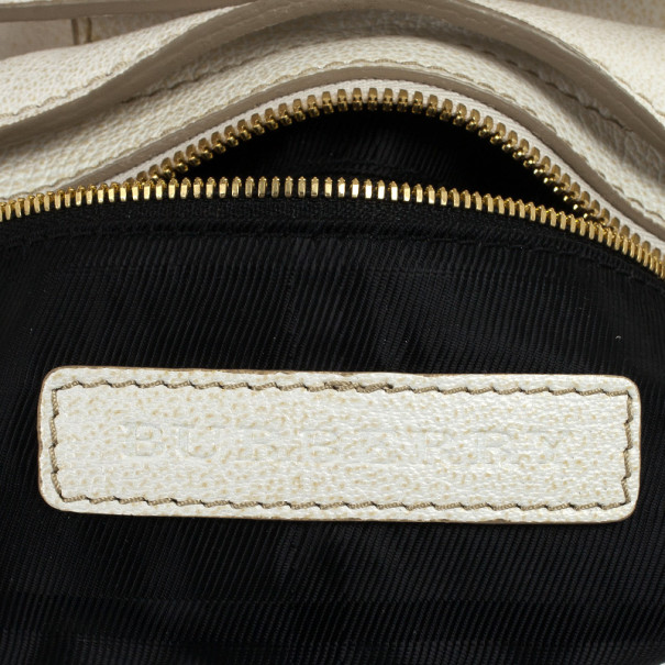 Burberry Small Holyoake Leather Bag