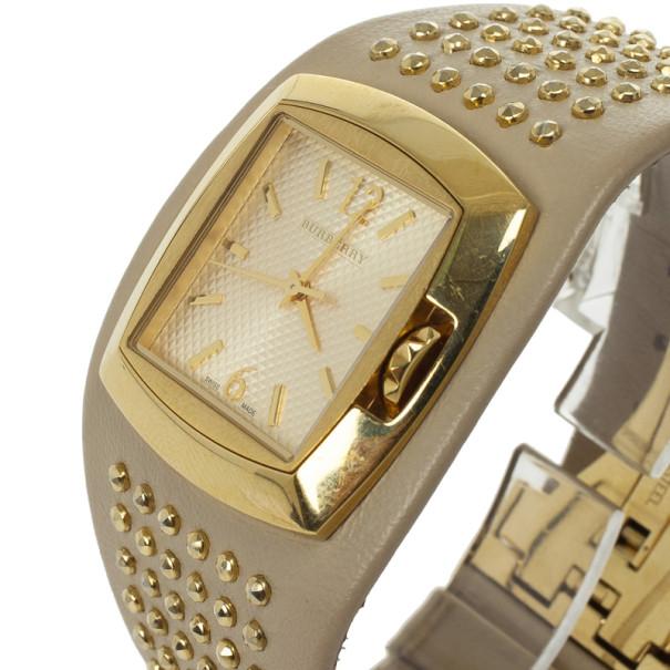 Burberry White Signature Womens Wristwatch 32 MM