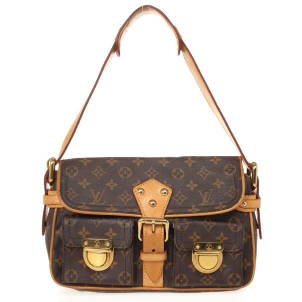 Louis Vuitton Monogram Canvas Hudson PM Shoulder Bag
