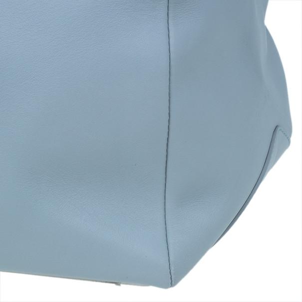 Balenciaga Blue Leather Ray Doctor Bag