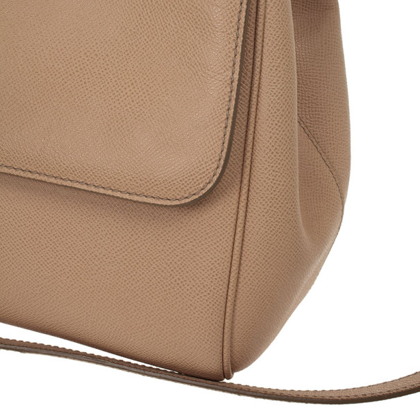 Dolce and Gabbana Beige Miss Sicily Tote