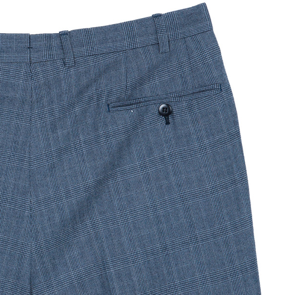Brioni Blue Palatino Wool Suit EU52