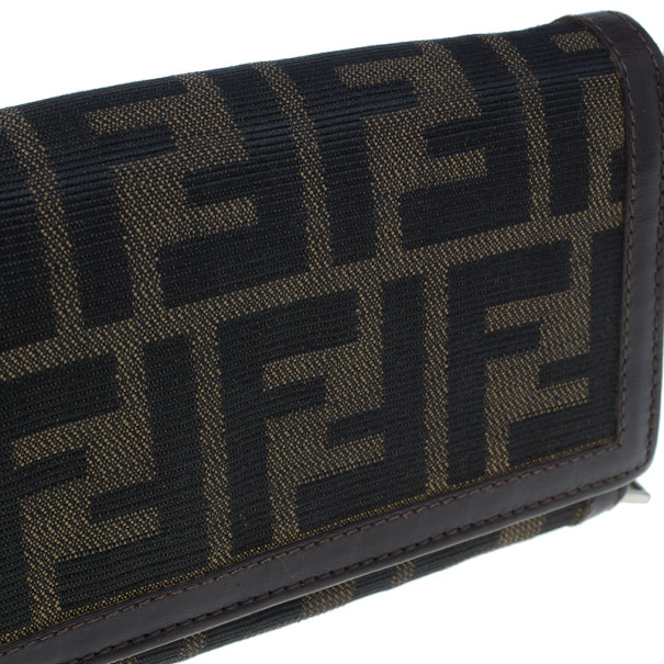 Fendi Zucca Flap Wallet
