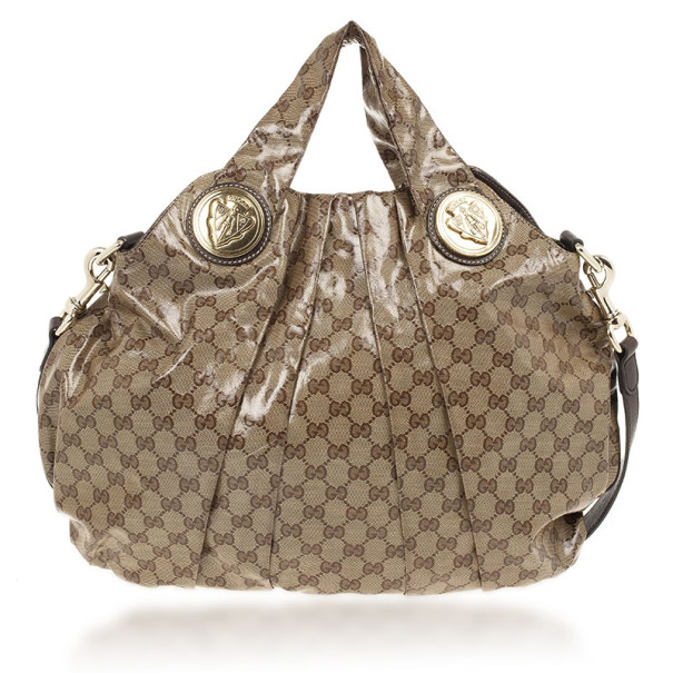 Gucci Medium Crystal Monogram Hysteria