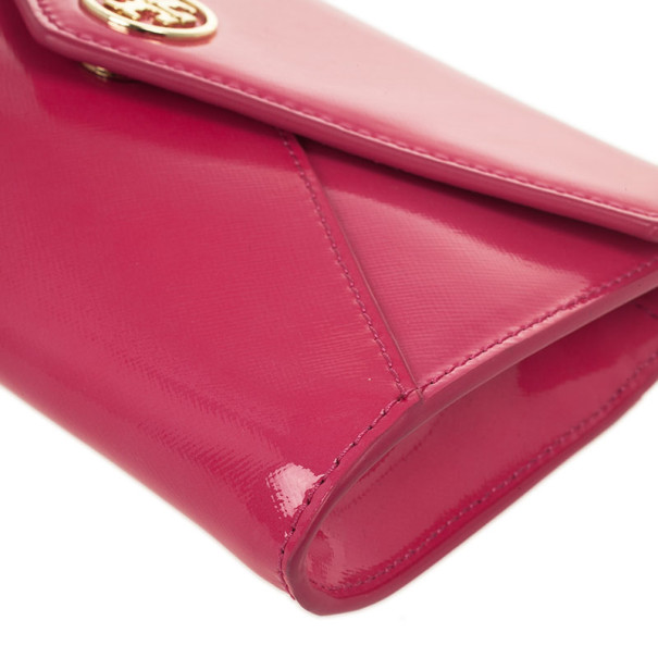 Tory Burch Robinson Small Roll Envelope Clutch