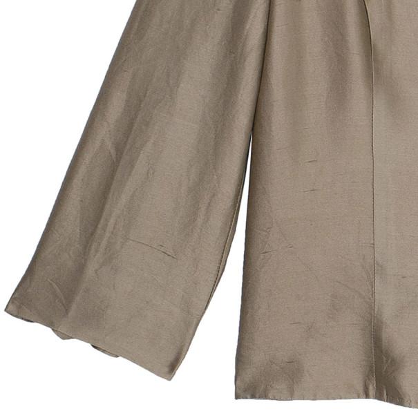 Valentino Champagne Silk Jacket XL