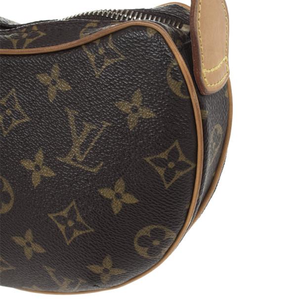 Louis Vuitton Monogram Canvas Croissant PM Bag