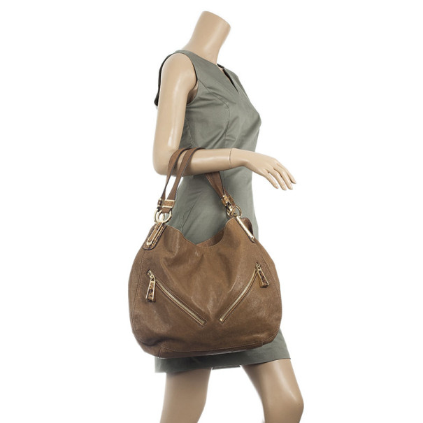 Michael Kors Tonne Leather Hobo