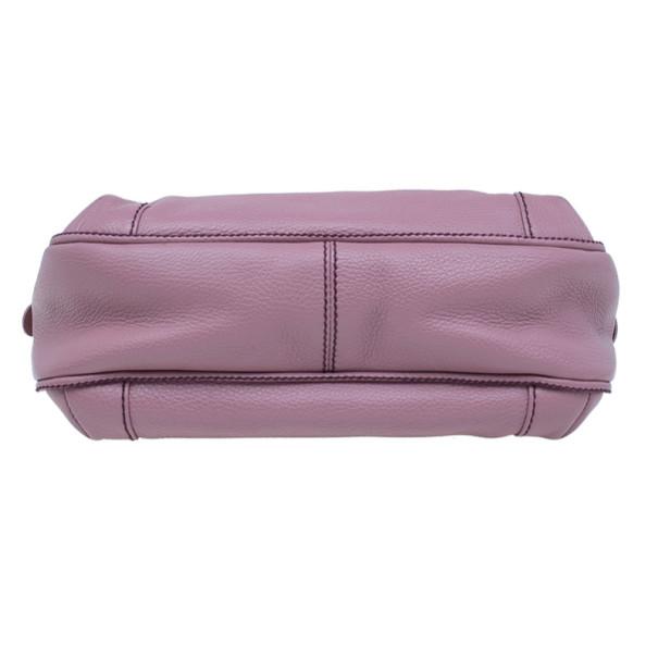 Chanel Pink Calfskin Style Tassel Hobo